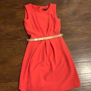 Tahari Arthur Levine Size 4 Sleeveless Dress